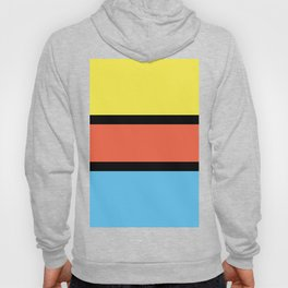 Diversions #1 in Yellow, Orange & Powder Blue Hoody