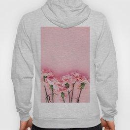 Blush Pink Flowers Hoody