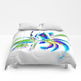 Abstract perfection - Flower Magical Comforters