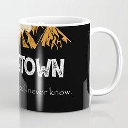 Middletown Hiking Mountains Vintage Women Coffee Mug