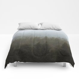 Snowy Forks Forest Comforters