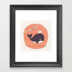 Wanda Whale Framed Art Print