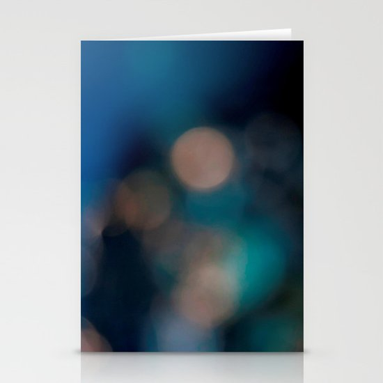 Abstract in Blue, No. 2 Stationery Cards