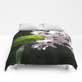 Orchid pattern Comforters