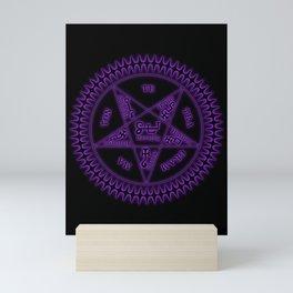 Sebastian Michaelis Sigil Dark (black bg) Mini Art Print
