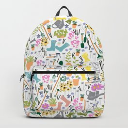 Garden Shed Pattern Backpack