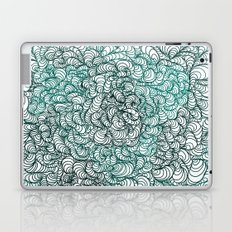 Squigg Block (Blue-Green) Laptop & iPad Skin