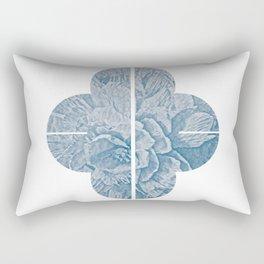 Peony III - series Rectangular Pillow