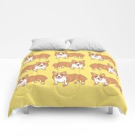 Happy Corgi Pattern Comforters