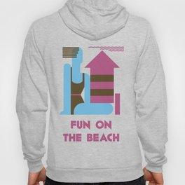 Fun on the beach jazz age Hoody