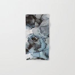 Smoke Show - Alcohol Ink Painting Hand & Bath Towel