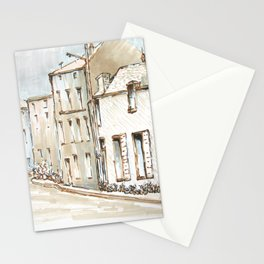 House Sketch Color Stationery Cards