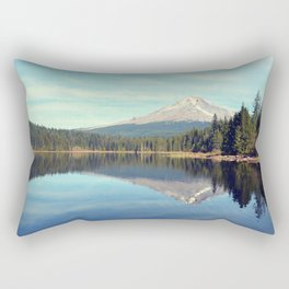 Mount Hood Trillium Lake Oregon Rectangular Pillow