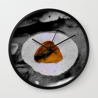 the cure Wall Clocks featuring The Cure by HourAfterOur Collective