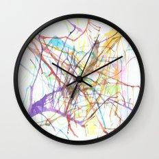 Watercolor 6 Wall Clock