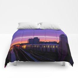 Commuter Sunrise Comforters