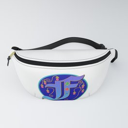Initial Letter F Fanny Pack