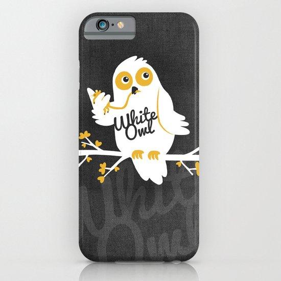 White Owl iPhone & iPod Case