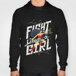 Fight like a girl Hoody