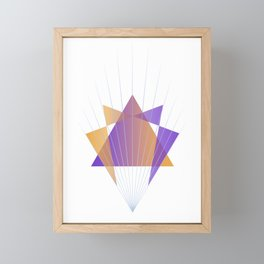 Sacred Enneagram Framed Mini Art Print