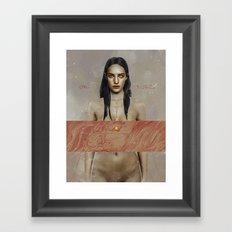 Verso.  Framed Art Print