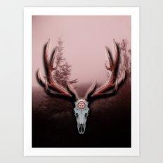 C-2 Horns Art Print