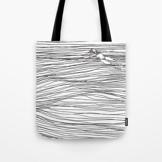 Another Long Silence Tote Bag