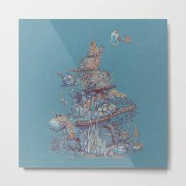Adventurer Reef Metal Print