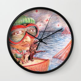 Superwoman Wall Clock
