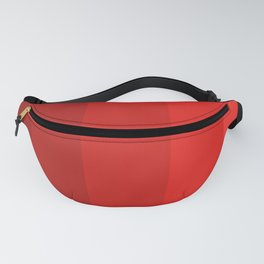 Red Striped Color Gradient Fanny Pack