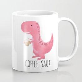 Coffee-saur | Pink Coffee Mug