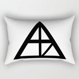 Alaska Sign Rectangular Pillow