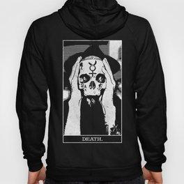 Death Tarot Occult Arcana Hoody