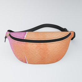 Summer in pink and orange Fanny Pack