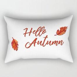 Hello Autumn Rectangular Pillow