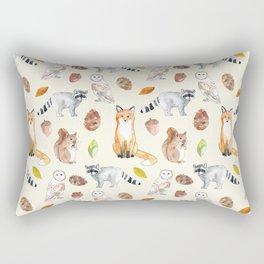 Woodland Critters Rectangular Pillow