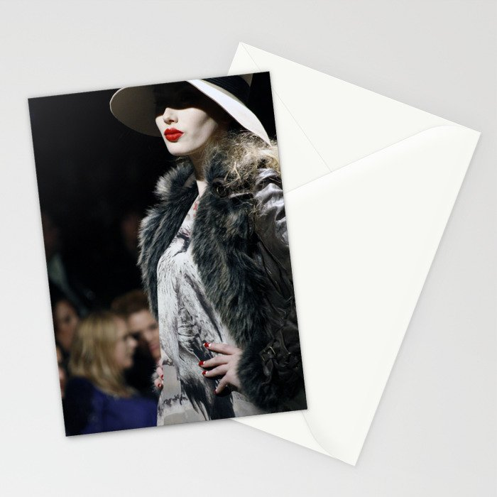 Lady Lips Stationery Cards