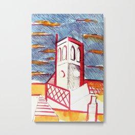 St Peters Church, Brighton Metal Print