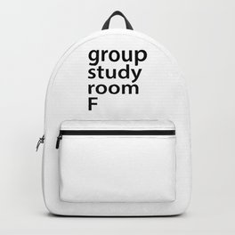 Group study room F Backpack