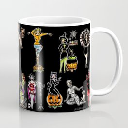 Halloween Flash | PinUp Girls Coffee Mug