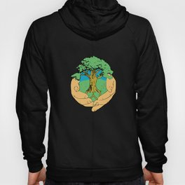 Tree Peace Love Sign Tshirt Earth Day 2019 for Men Women Kids Hoody