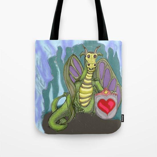 Lovelorn Dragon Tote Bag