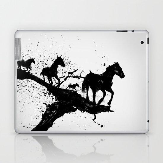Liquid horses Laptop & iPad Skin