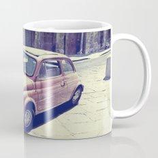Fiat 500 - Italia Car Mug