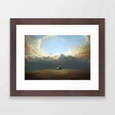 At World's End Framed Art Print