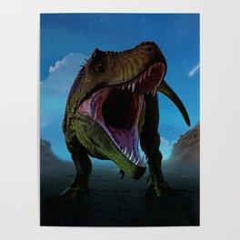 Dino Moon by GEN Z Poster