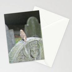 Sparrow in King's Chapel Burying Ground Boston Stationery Cards