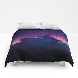 Bad Ass Purple Sky Comforters