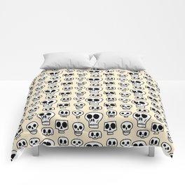 Skulls Drawings Comforters