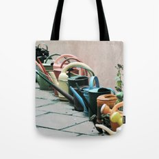 Watering Cans Tote Bag